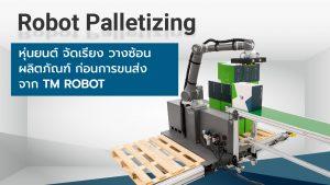 Robot Palletizing หุ่นยนต์ จัดเรียง วางซ้อน ผลิตภัณฑ์